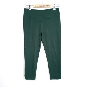 Synergy Organic Clothing Leggings Green Medium